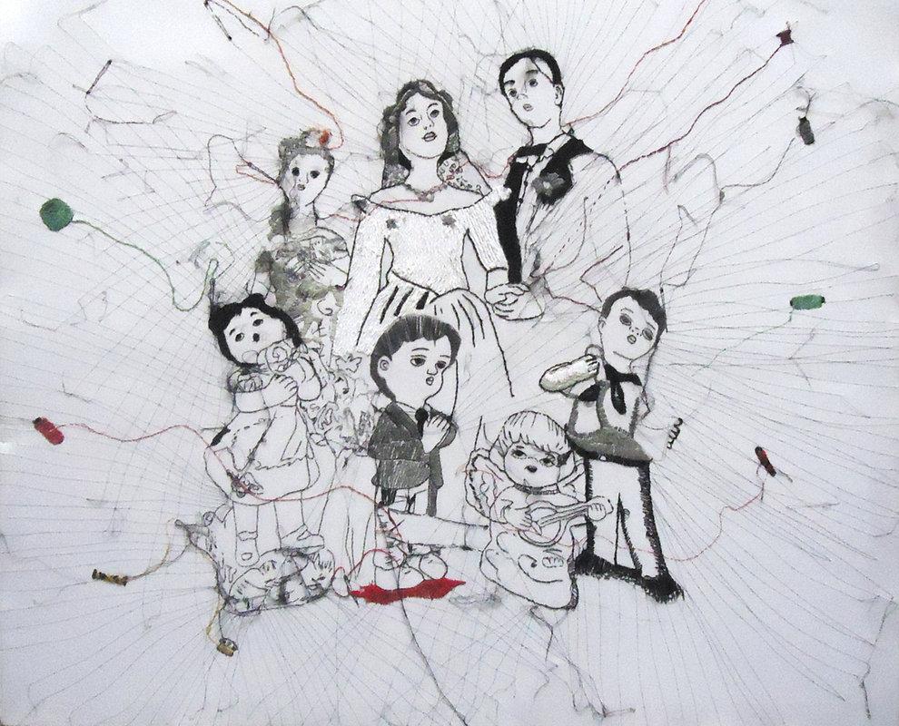 HOGAR DULCE HOGAR (serie puntada familiar) | Cortez Karina