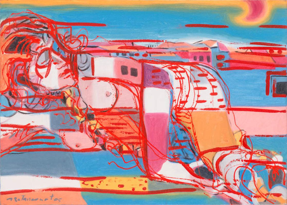 Miguel Betancourt - Ciudad a espaldas de mujer | Artex Collection
