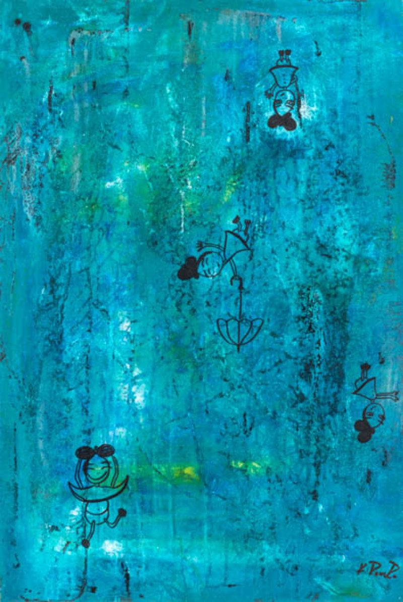 Katya Romero - Niña en la lluvia | Artex Collection