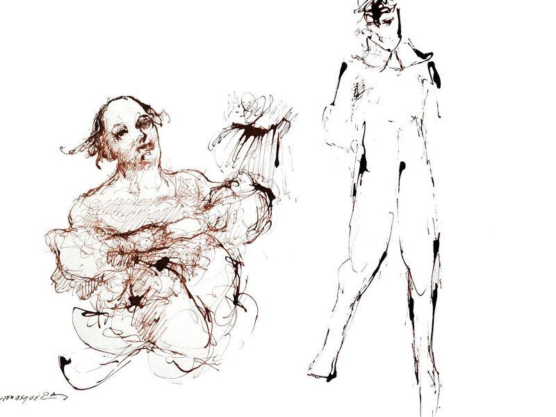 Washington Mosquera - En el taller del pintor 2