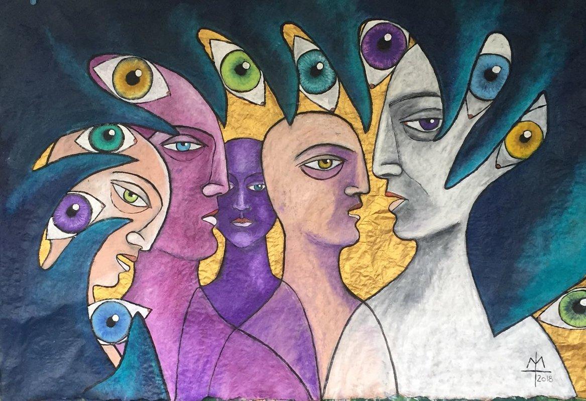 Serie el ser y la naturaleza - VIII | Lehmann Margarete