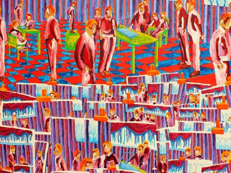Escuela de pintura - Zamora Gabriel  | ARTEX