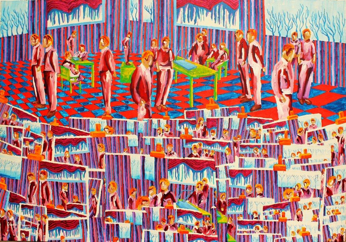 Escuela de pintura | Zamora Gabriel