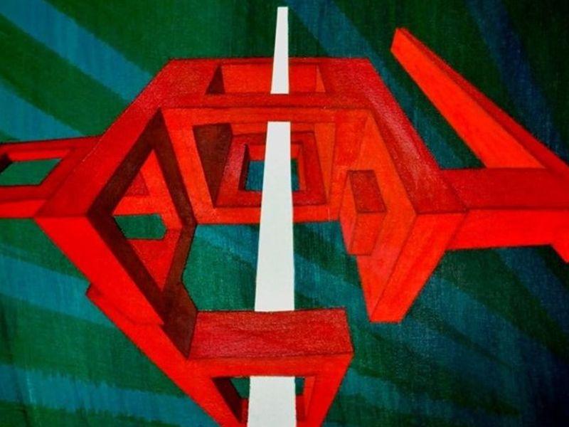 Ente en la ventana - Cabrera Ricardo  | ARTEX