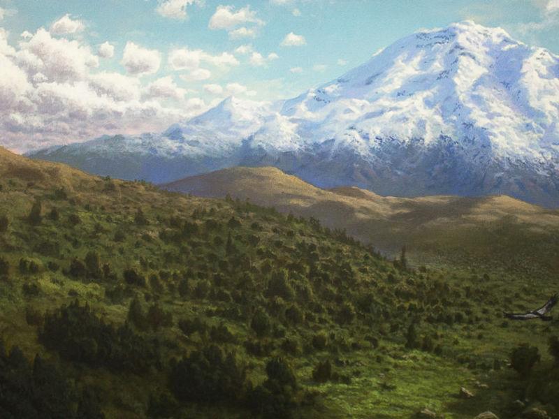 Mario Fegan - Chimborazo a vuelo de Cóndor