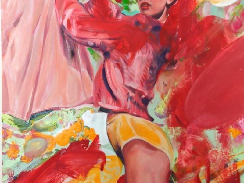 Pazmiño Alvaro / Venus colgando pieles de venus