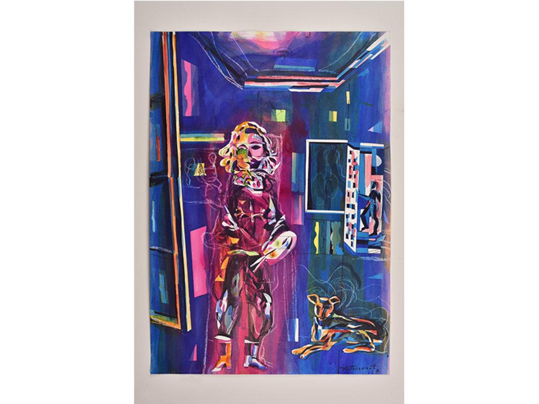 El pintor y su amigo | Artex Limited