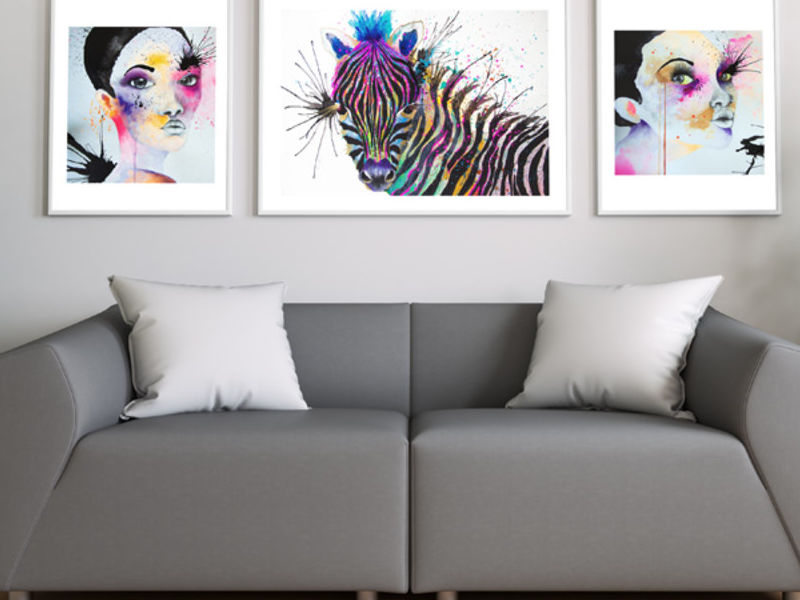 ART PRINTS - SERIE FUCSIA - DArboleda | ARTEX