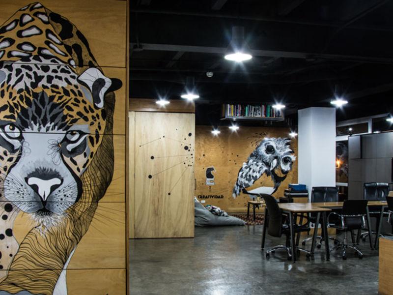 Murales sobre madera