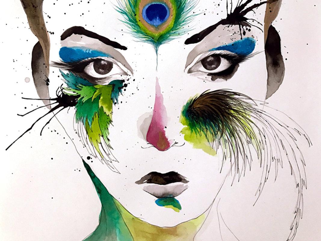 ART PRINTS - SERIE MUSAS | DArboleda