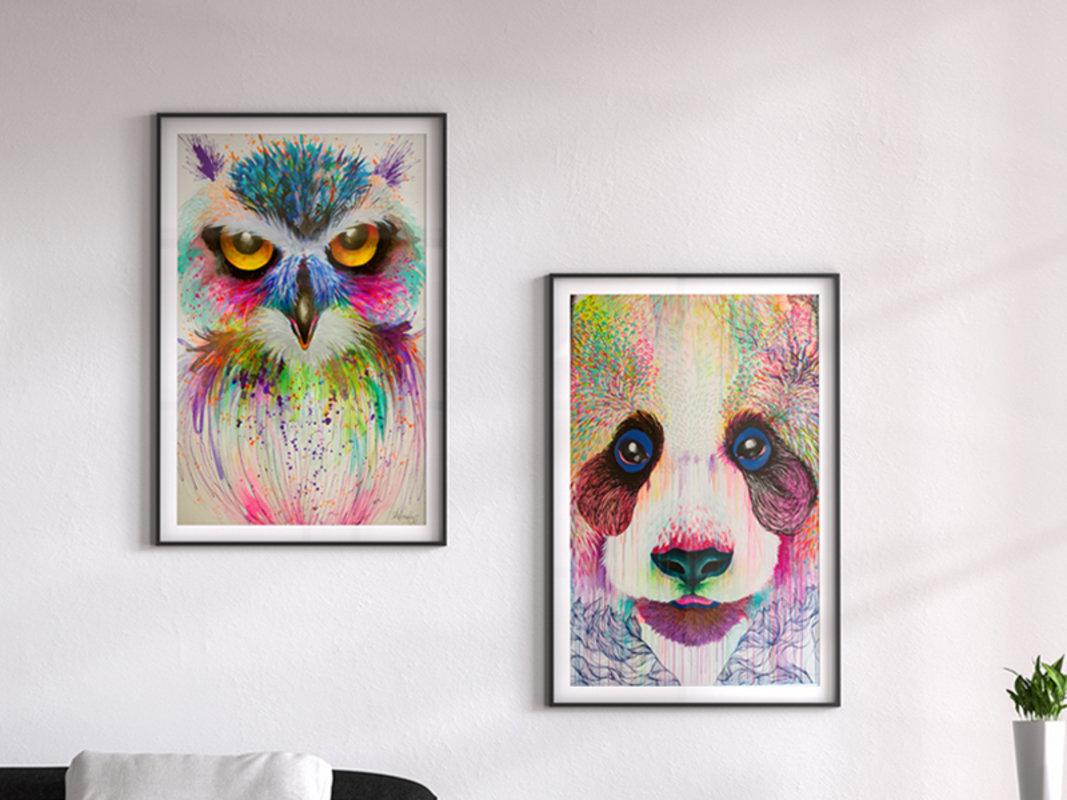 ART PRINTS - SERIE PELOS | DArboleda