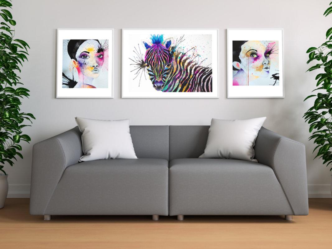 ART PRINTS - SERIE FUCSIA | DArboleda