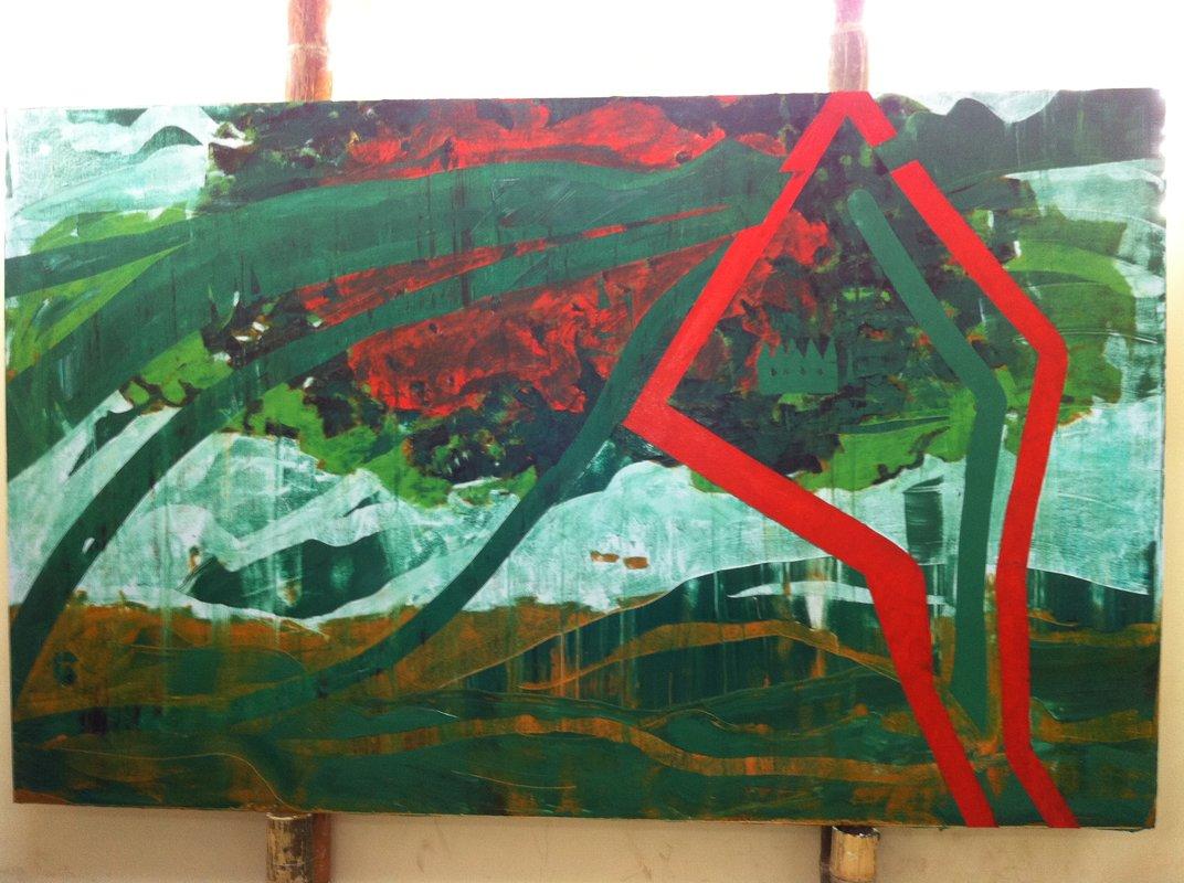 Abstracto 15 | Rafael Ruales