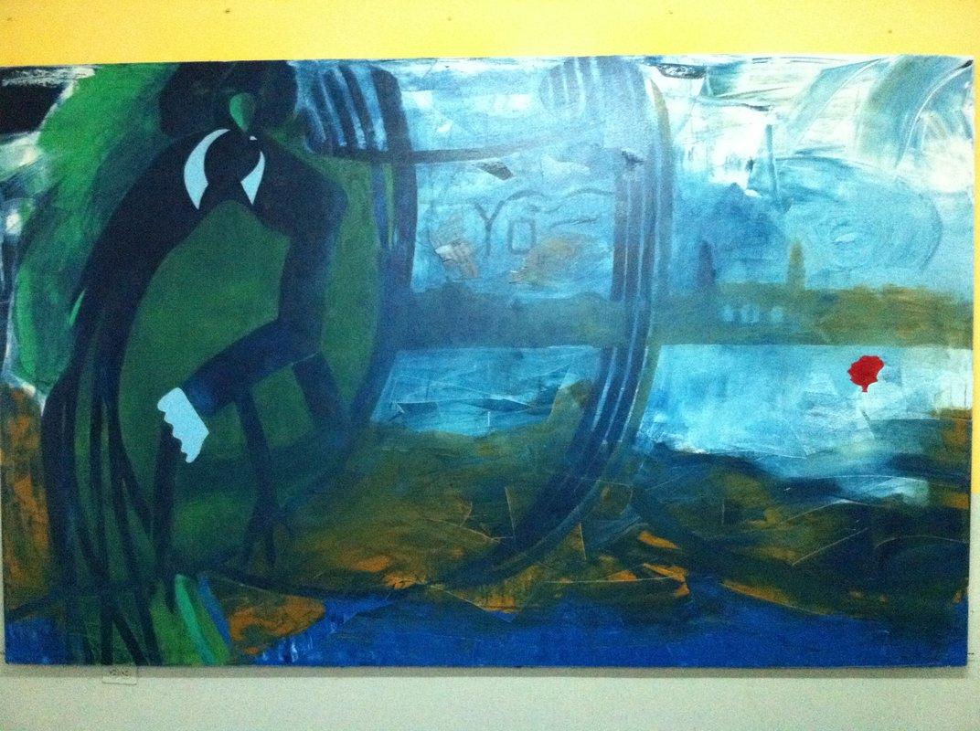 Abstracto  16 | Rafael Ruales