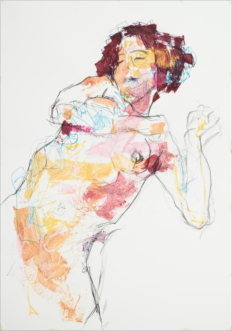 Tributo a Schiele y klimt | Mera Christian
