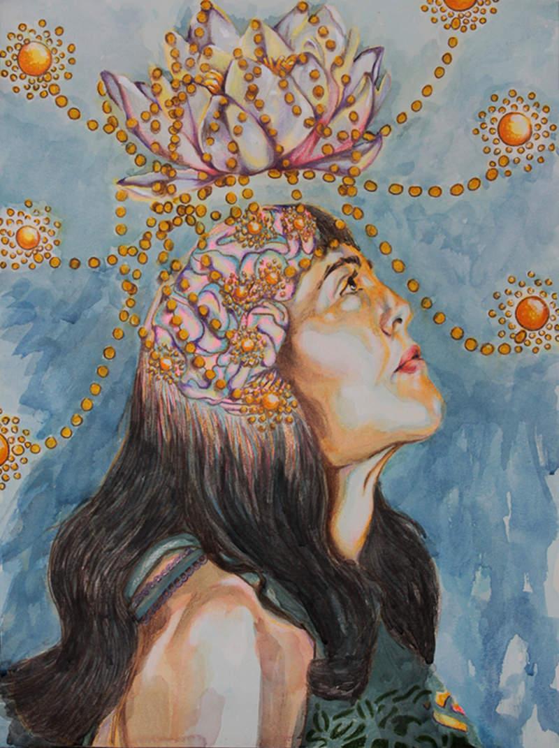 Visualización de una meditación | Rodriguez Lisseth