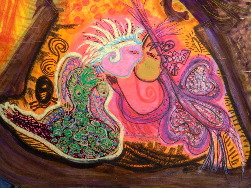 Guadalupe Huerta Tonantzin / El jardín de rosas