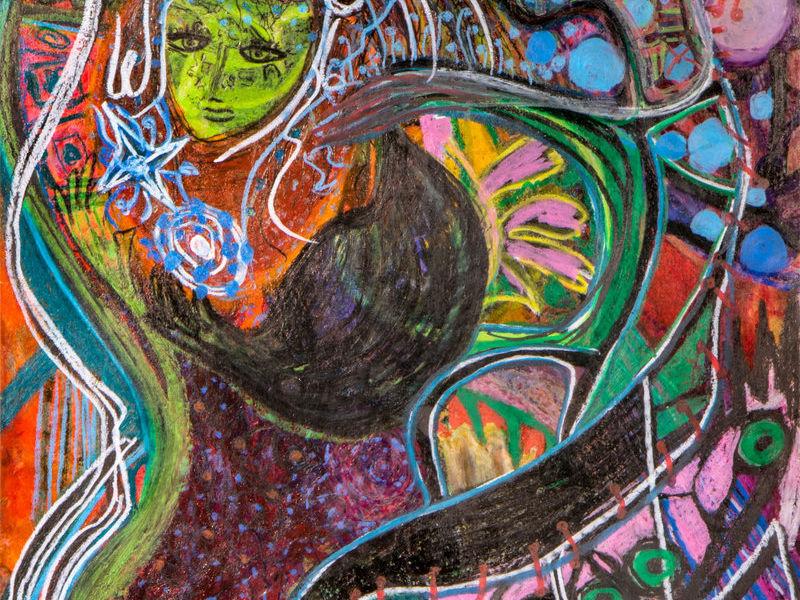 Niña Tonantzin viaja al cosmos Nahuatl
