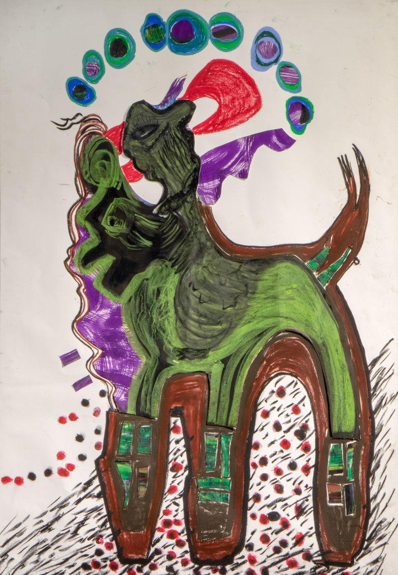 El mito cabalga | Guadalupe Huerta Tonantzin