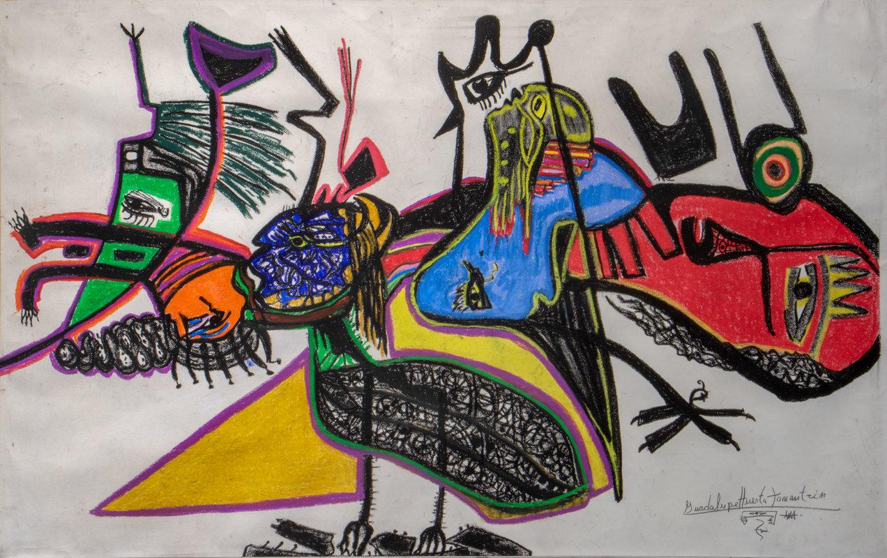 Genealogía hombres, mujeres y pájaros | Guadalupe Huerta Tonantzin