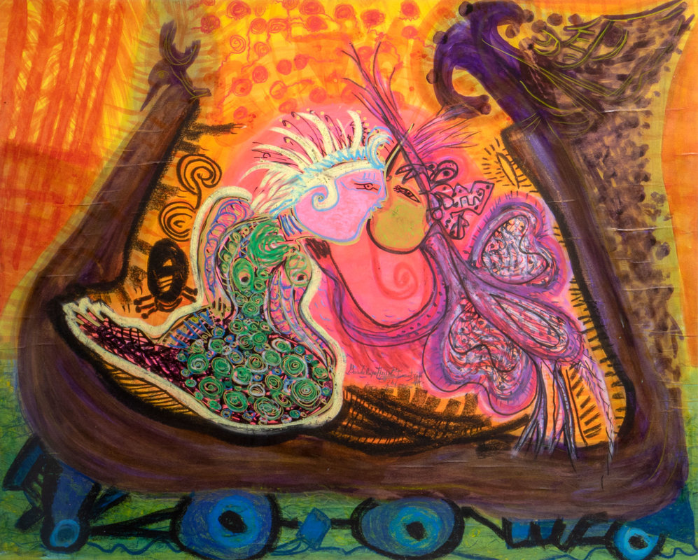 El jardín de rosas | Guadalupe Huerta Tonantzin