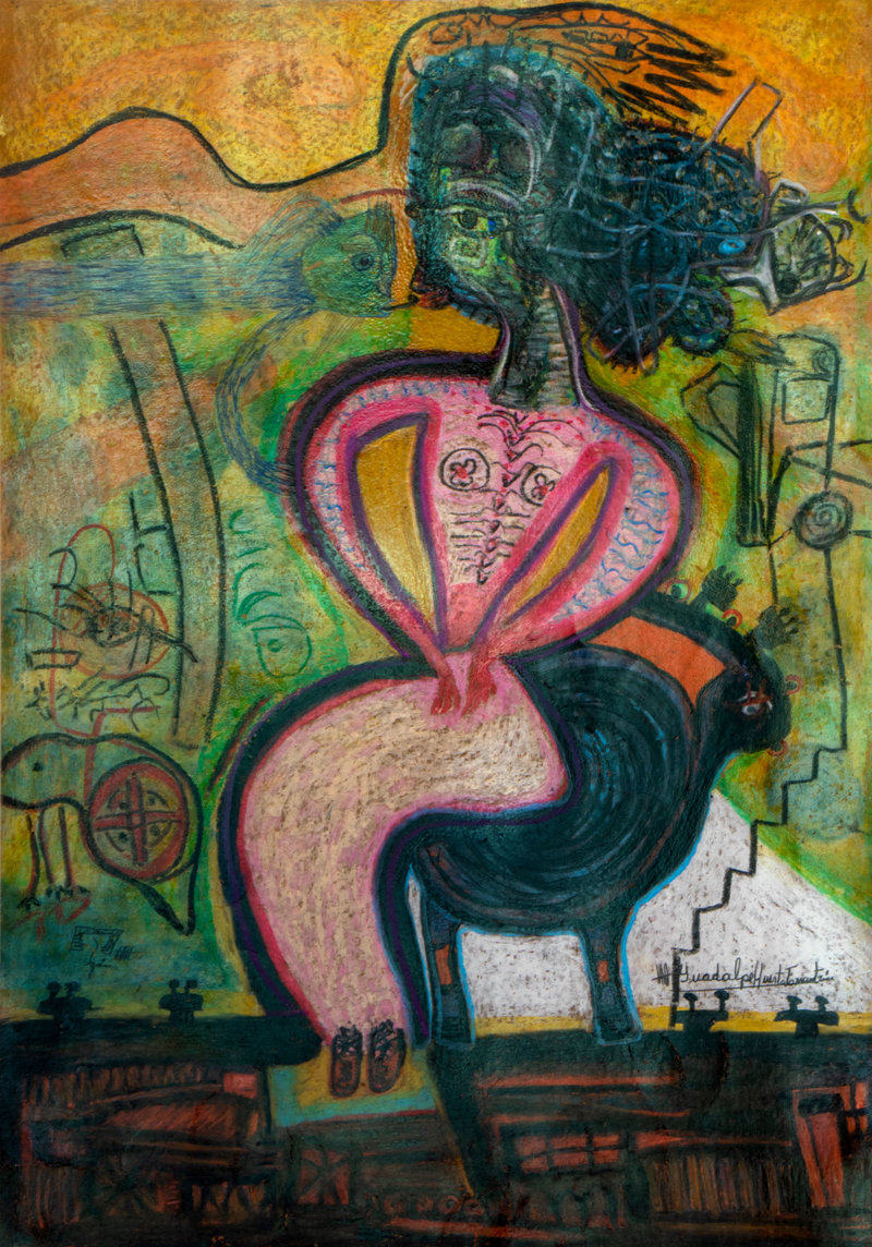 Los fantasmas de la mente | Guadalupe Huerta Tonantzin