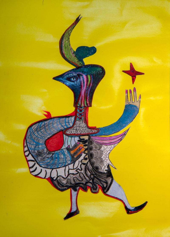 Mujer cabeza de águila | Guadalupe Huerta Tonantzin