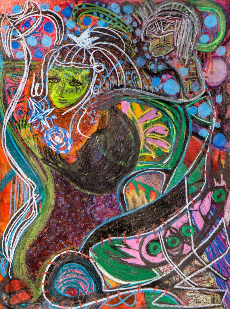 Niña Tonantzin viaja al cosmos Nahuatl | Guadalupe Huerta Tonantzin