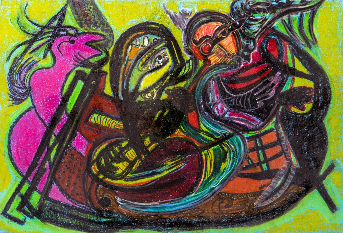 Los navegantes | Guadalupe Huerta Tonantzin
