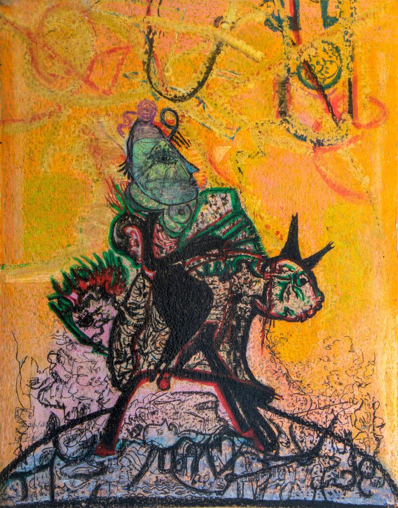 Guadalupe Huerta Tonantzin / El mito cabalga II | Guadalupe Huerta Tonantzin