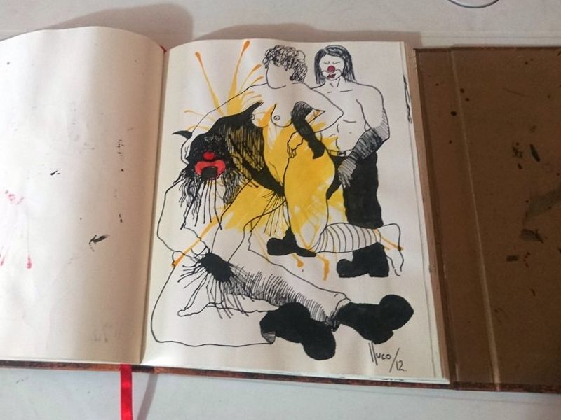 Lluco Edwin / libro de artista/objeto 2