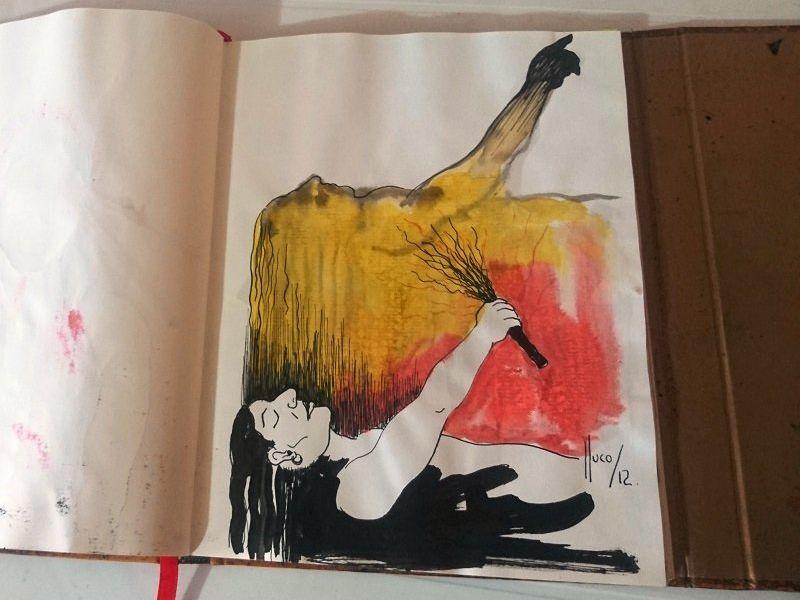 Lluco Edwin / libro de artista/objeto 3