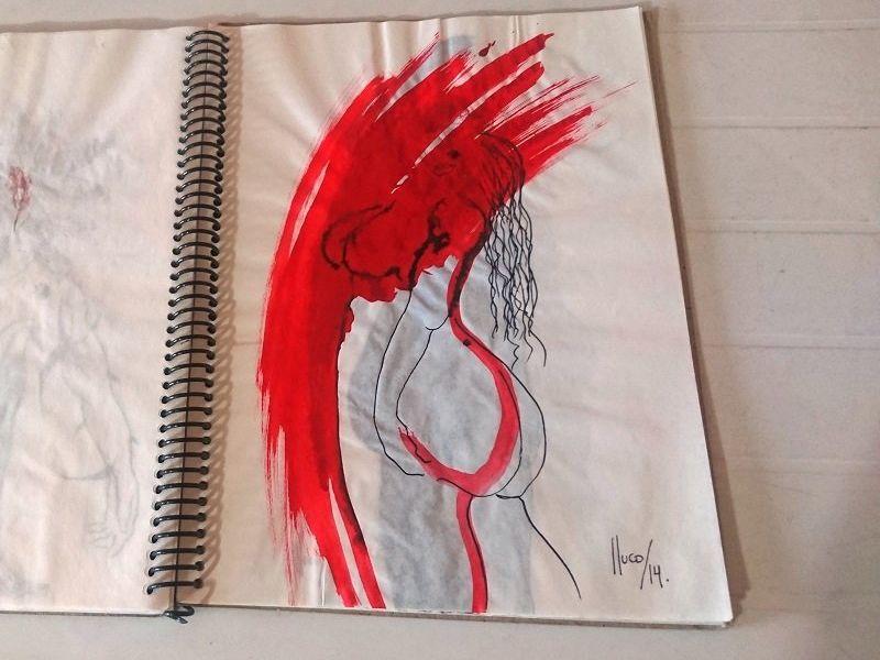 Lluco Edwin / Desfiguraciones/libro de artista