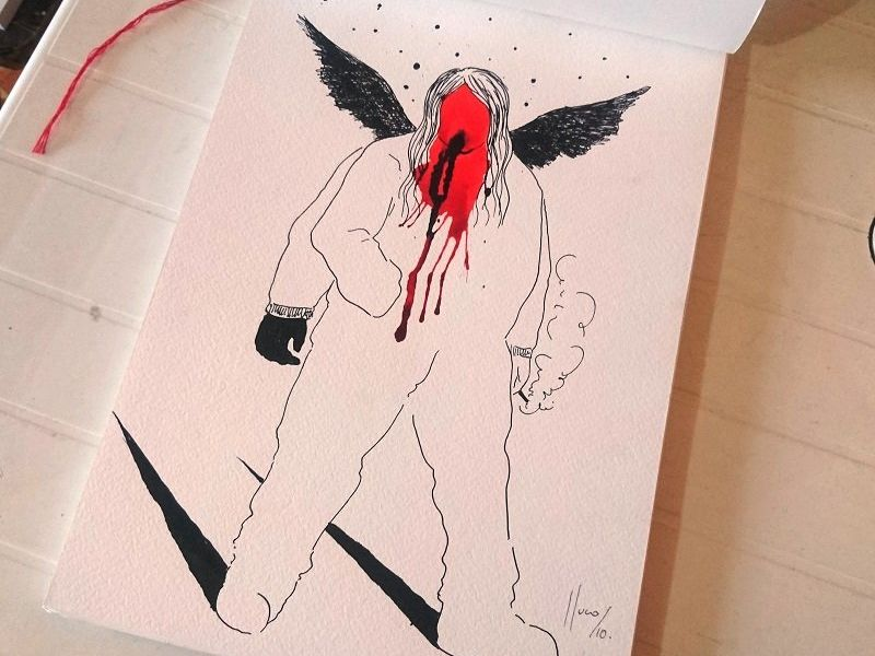 fractales /libro de artista
