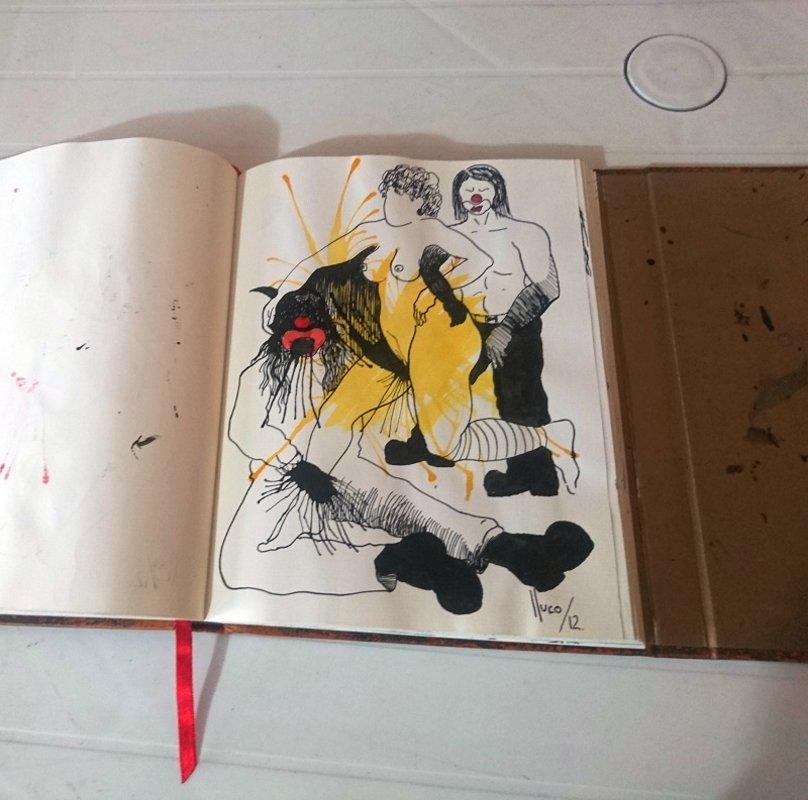 Lluco Edwin / libro de artista/objeto 2 | Lluco Edwin