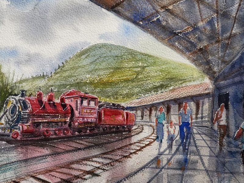 Estacion de Ferrocarril de Chimbacalle
