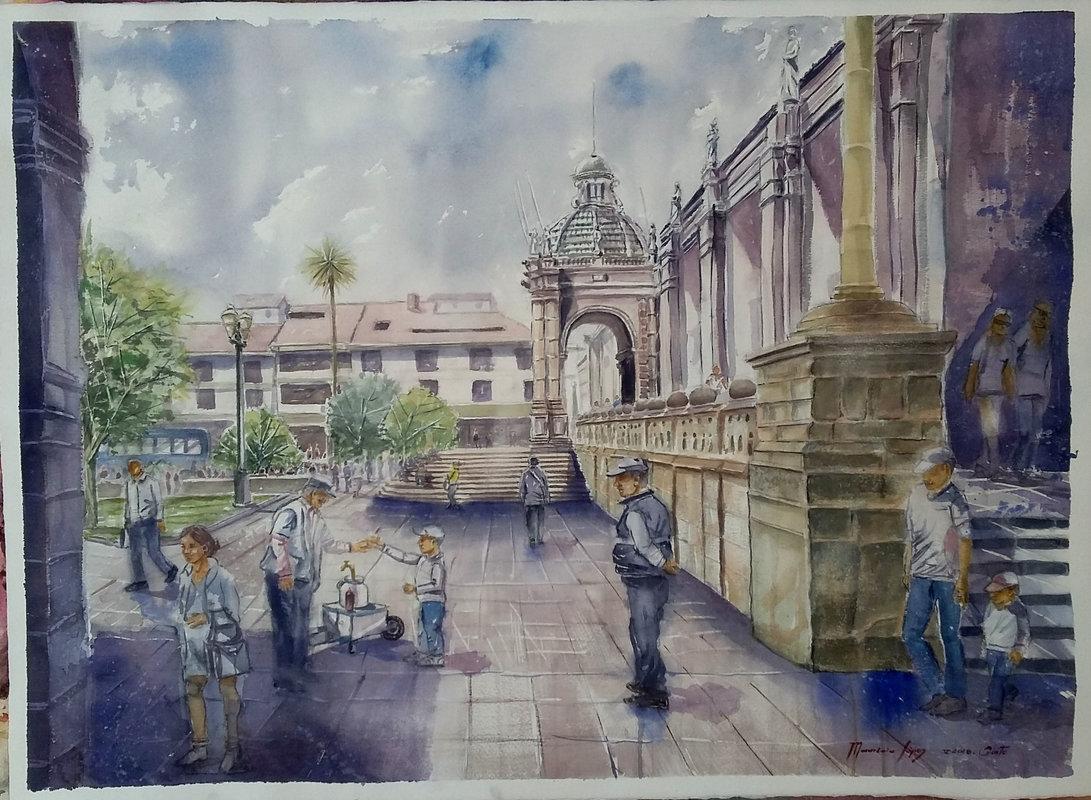 Mauricio López / Plaza de la Independencia | López Mauricio Arturo