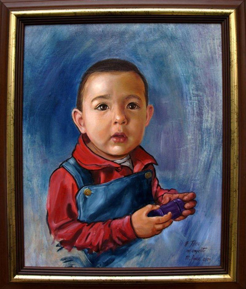Retrato Theo | López Mauricio Arturo