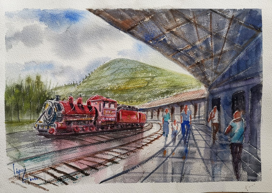 Estacion de Ferrocarril de Chimbacalle | López Mauricio Arturo