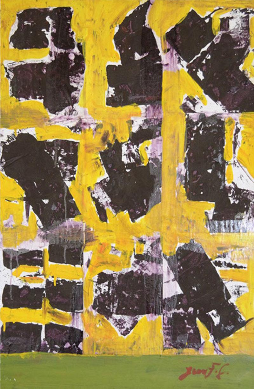 Abstracto amarillo | González Juan Francisco