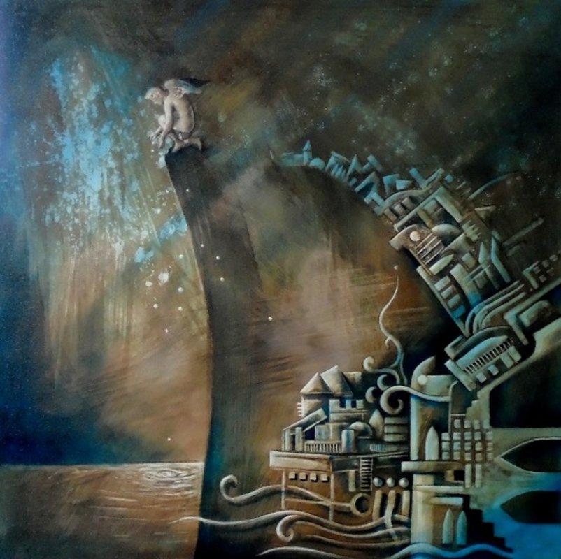 Un beso en el agua y la ciudad del viento | Porras Jorge
