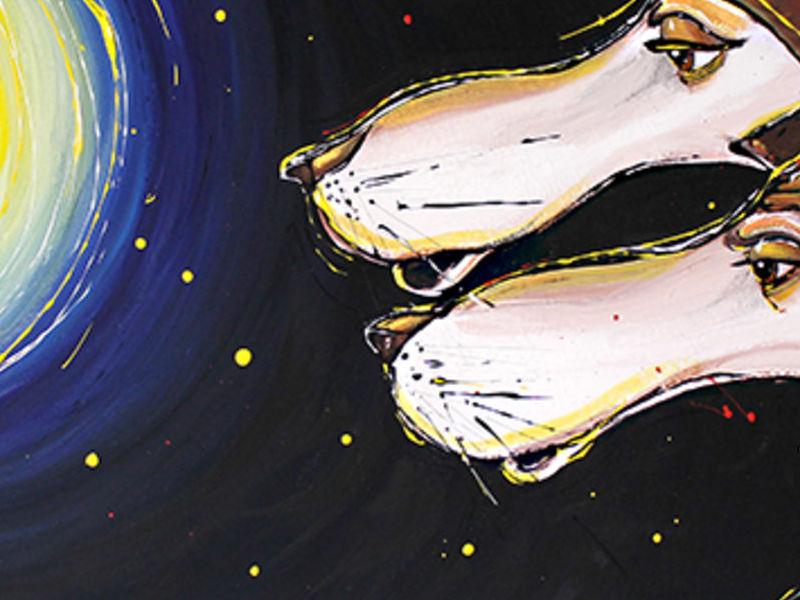 lobos a la luna - Ortiz Roberto | ARTEX