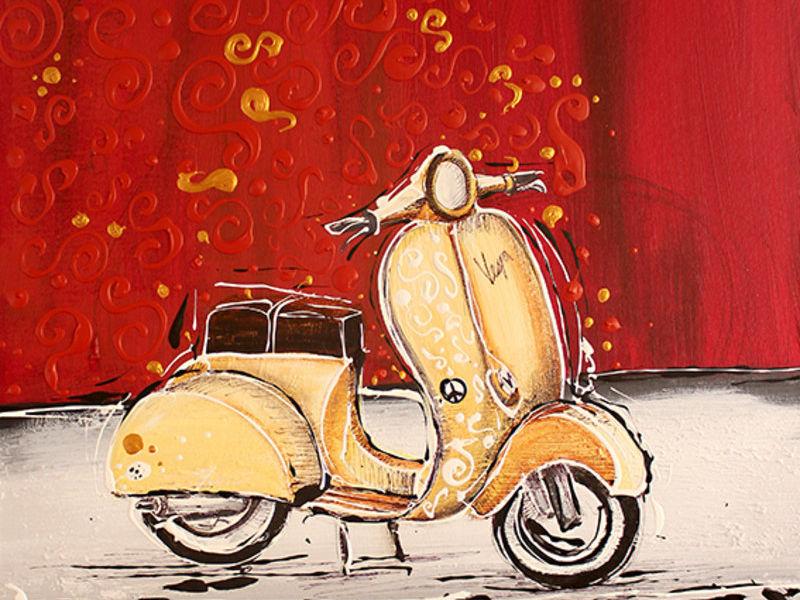 Vespa beige - Ortiz Roberto | ARTEX