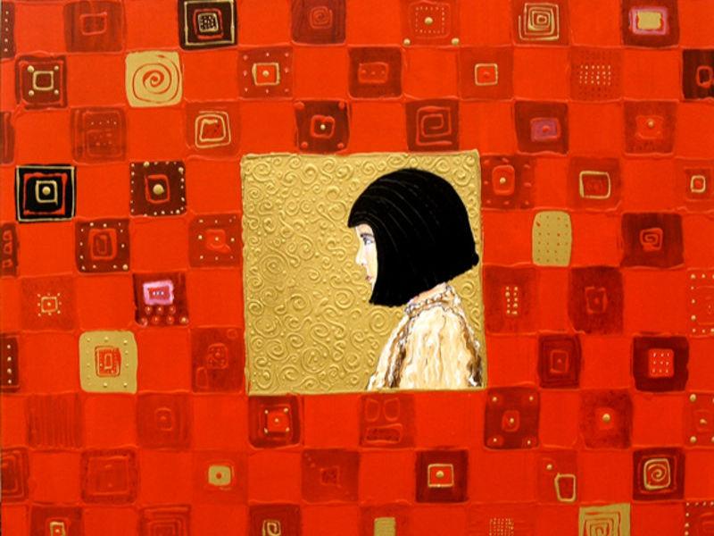 La niña del mantel... - Ortiz Roberto | ARTEX
