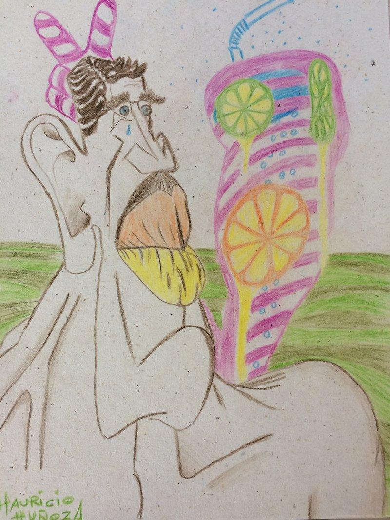 Dibujos con lapices de colores | Mauricio Muñoz A.