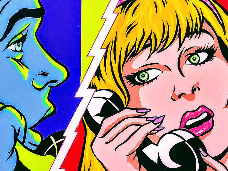 JUST TALKING... / POP ART