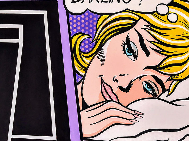 GOOD MORNING DARLING ! / POP ART