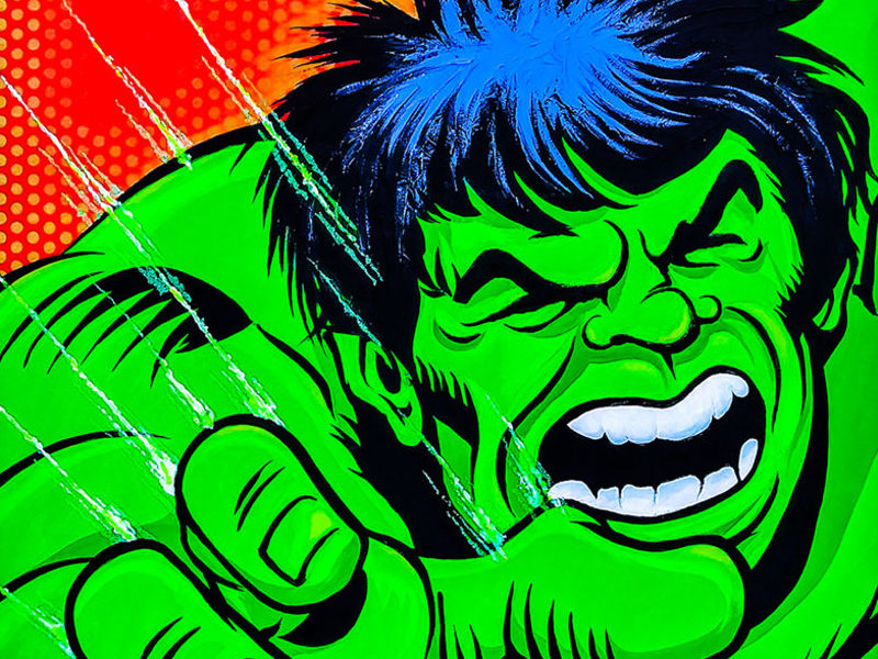 HULK 3D / POP ART