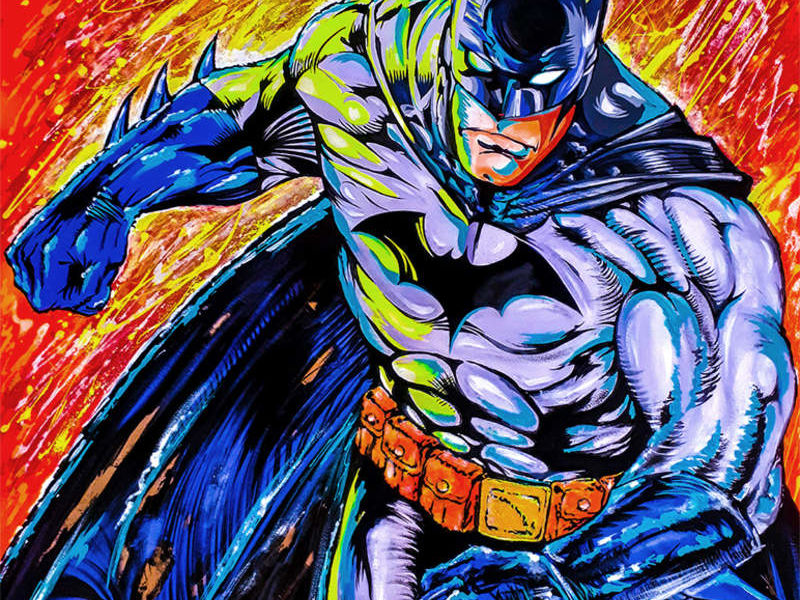 BATMAN IN ACTION / POP ART