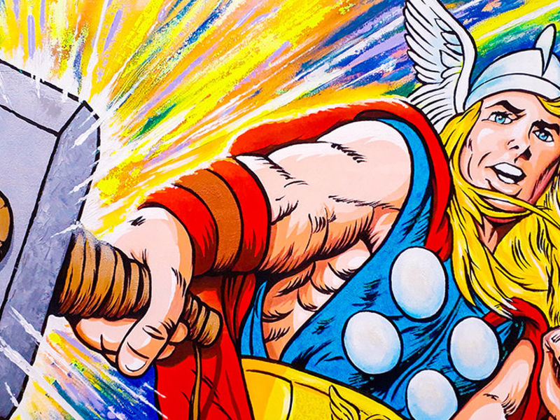 THOR IN ACTION / POP ART  - Tobar Jose | ARTEX